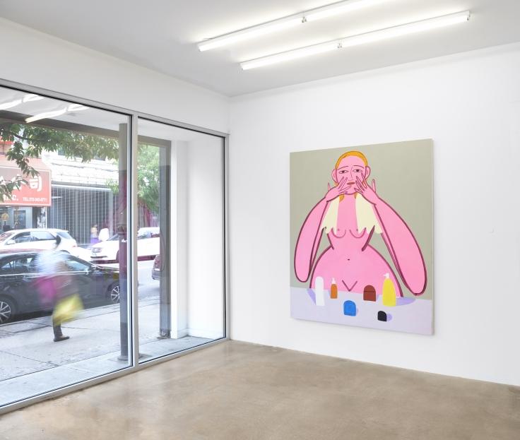 Installation view, Grace Weaver, BEST LIFE,291 Grand St, September 14 - October 28, 2018