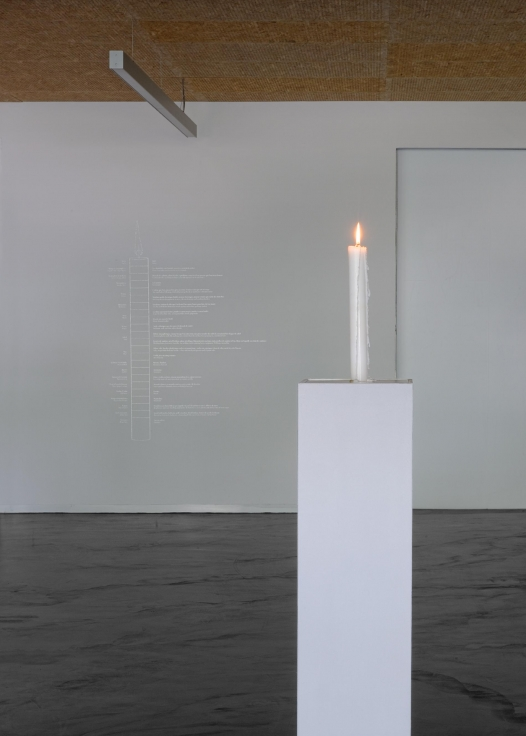 KATIE PATERSON Candle (from Earth into a Black Hole),2015