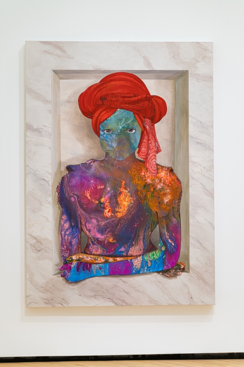 FIRELEI BÁEZ For Marie-Louise Coidavid, exiled, keeper of order, Anacaona, 2017