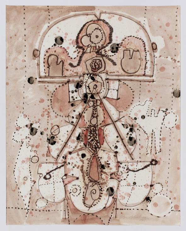 LEE MULLICAN Untitled,1965