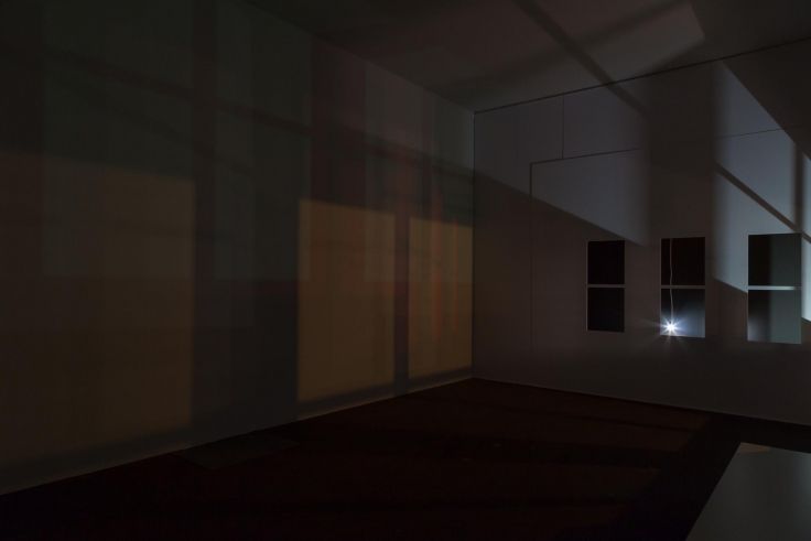 , SPENCER FINCHStudy for Light in an Empty Room (Studio at Night), 2015Mixed media installationDimensions variable