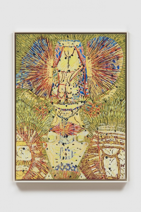 LEE MULLICAN Untitled (The Owl)