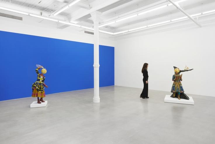 Installation view, Yinka Shonibare CBE,Earth Kids, 291 Grand St, December 4, 2020 - January 23, 2021