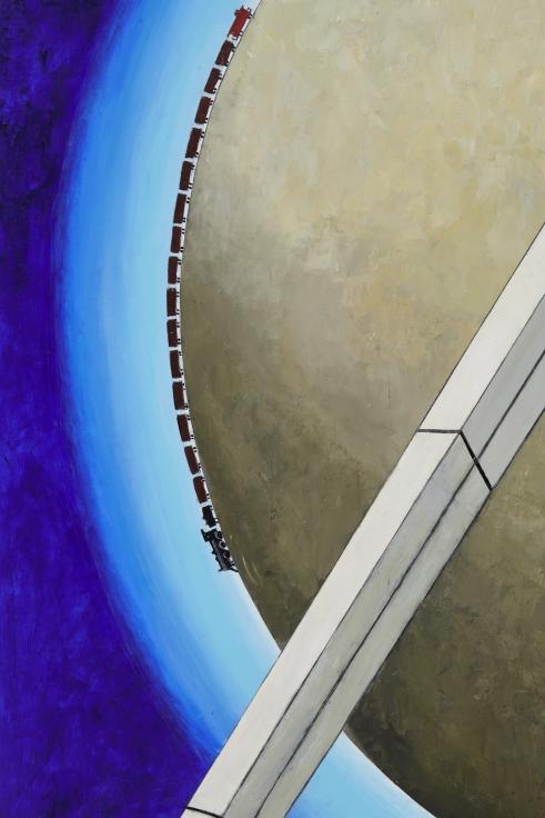MERNET LARSEN Astronaut: Sunrise (after El Lissitzky),2020