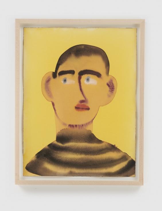 GRACE WEAVER Untitled (Portrait of a Boy), 2021