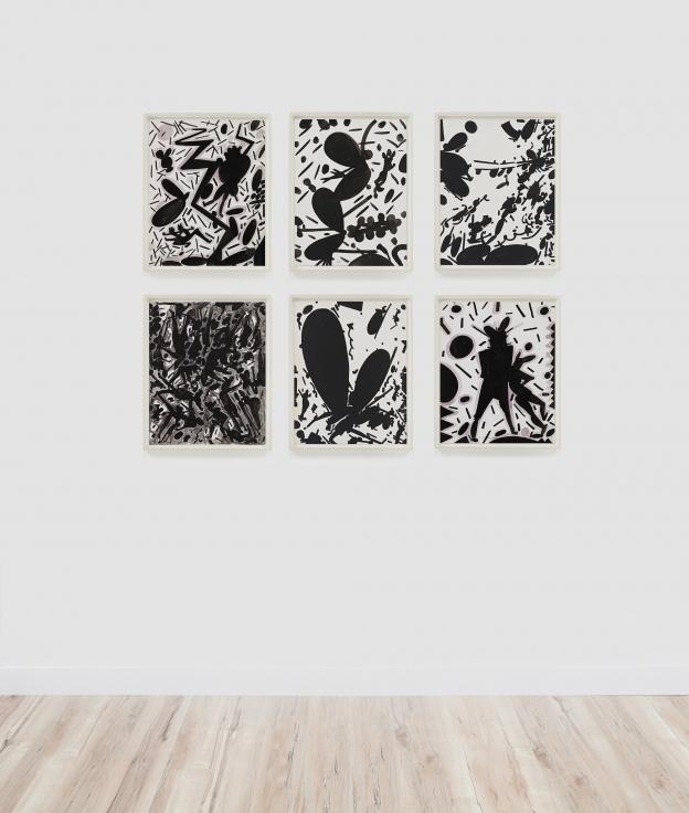 LEE MULLICAN Untitled, 1981