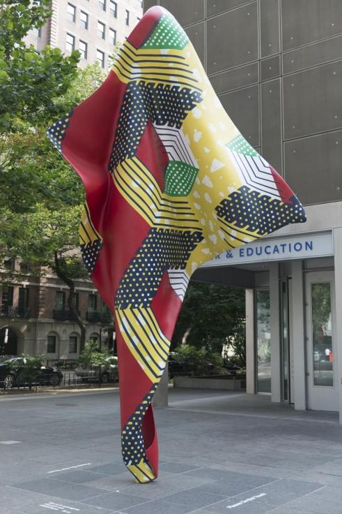 YINKA SHONIBARE, CBE, Installation view,MCA Chicago Plaza Project: Yinka Shonibare, MBE, MCA Chicago, IL, June 16- October 31,2014