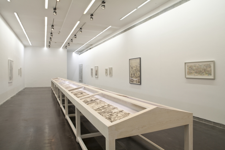 Installation View,Water Work,UCCA Center for Contemporary Art, Beijing, China,June 3 - July 23, 2012