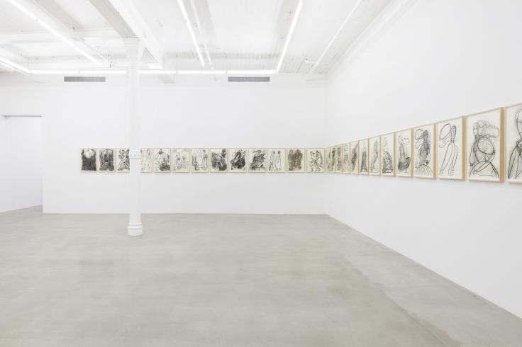 Installation view, Grace Weaver:STEPS,291 Grand St, July 15 - September 13, 2020