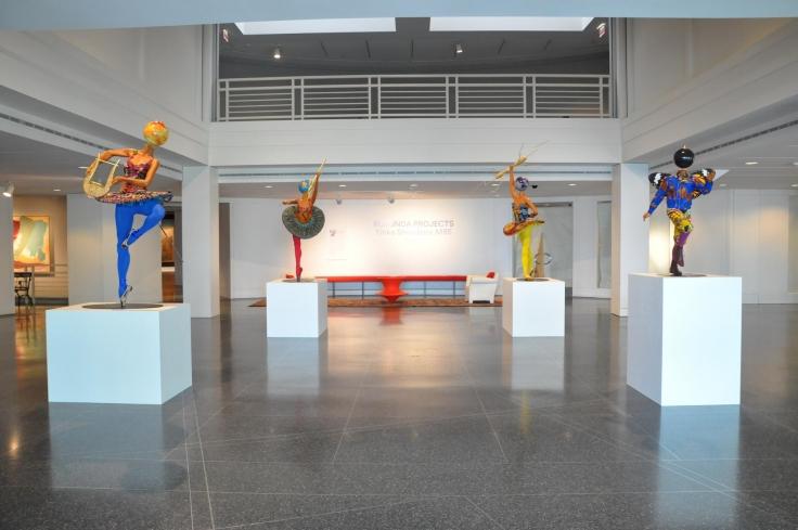 Installationview, Rotunda Projects: Yinka Shonibare MBE,Memphis Brooks Museum of Art, Memphis, TN,May 7- November 16, 2016,
