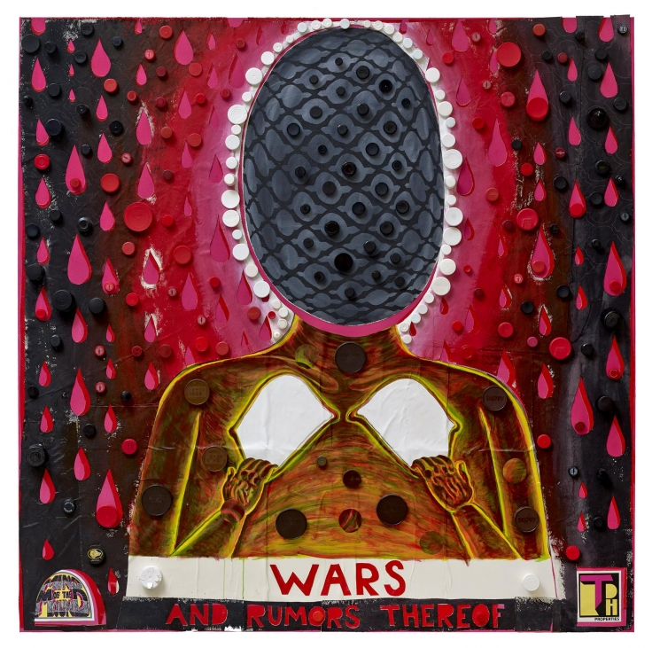 TRENTON DOYLE HANCOCK, Wars and Rumors Thereof,2016
