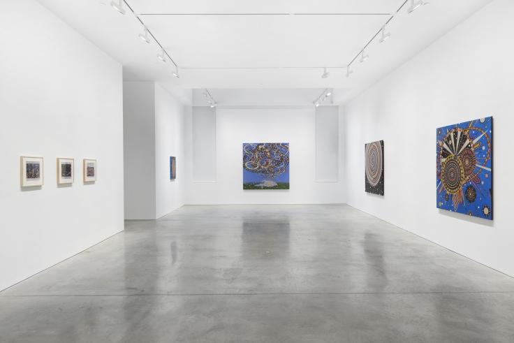 Installation view,Fred Tomaselli, 48 Walker St, October 23 - November 21, 2020