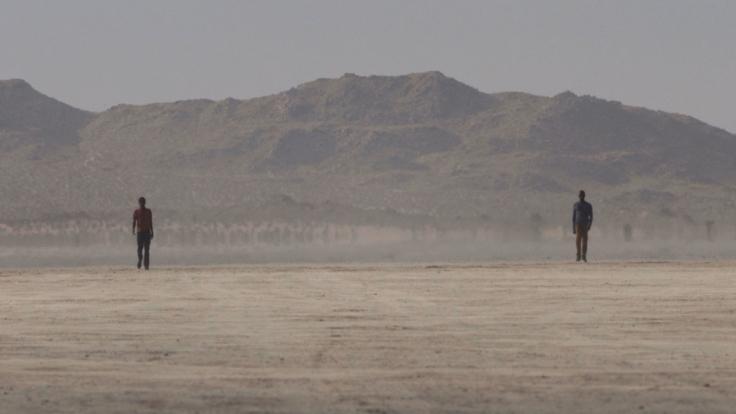 BILL VIOLA Walking on the Edge (I), 2012