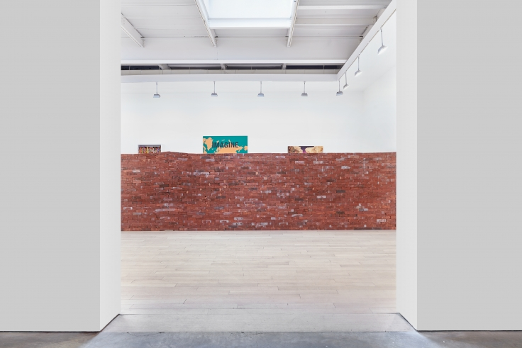 Borders, installation view at James Cohan, 533 West 26 Street, January 10 - February 23,2019.