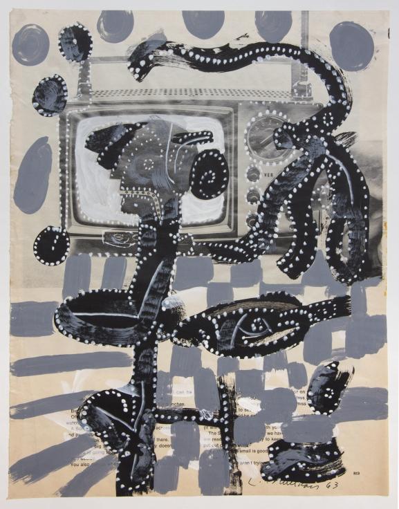 LEE MULLICAN Untitled,1963
