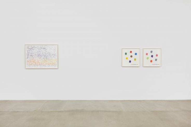 SPENCER FINCH, The Brain is deeper than the sea,James Cohan LES, 2018, installation view.