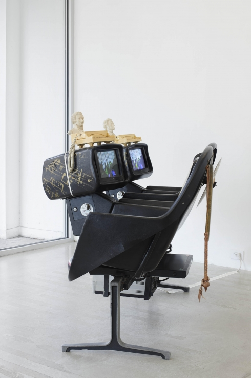Installation view,Nam June Paik,Music is Not Sound,291 Grand Street, September 11- October 20, 2019