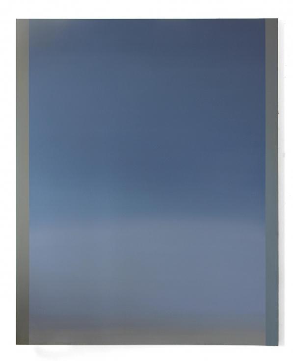 , BYRON KIMLayl almadina (Halo 1),2015Acrylic on canvas mounted on panel60 x 48 in. (152.4 x 121.9 cm)