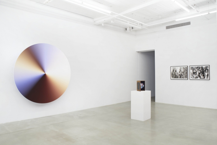 Installation view of group exhibition James Cohan: Twenty Years at 291 Grand Street