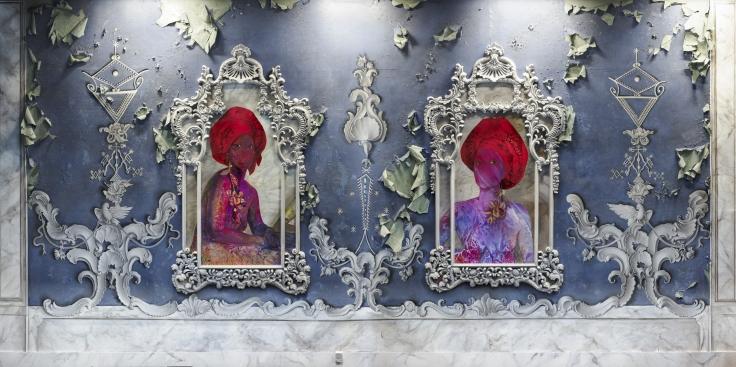 FIRELEI BÁEZ For Améthyste and Athénaïre (Exiled Muses Beyond Jean Luc Nancy's Canon), Anacaonas,2018