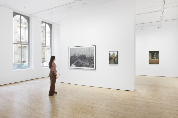 Installation view, Gauri Gill,A Time to Play: New Scenes from Acts of Appearance, James Cohan, 52 Walker Street, October 7-November 13, 2021