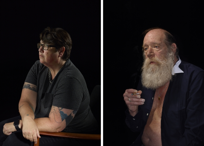 Catherine Opie & Lawrence Weiner
