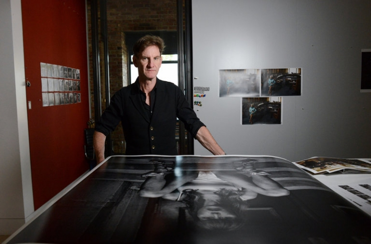 Press: The New York Times on Mark Seliger