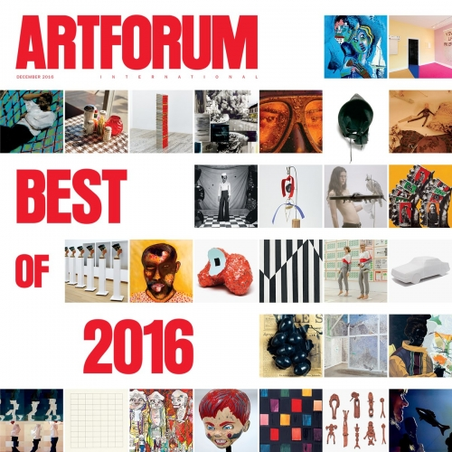 Louis Draper is featured in Artforum's Best of 2016 Issue