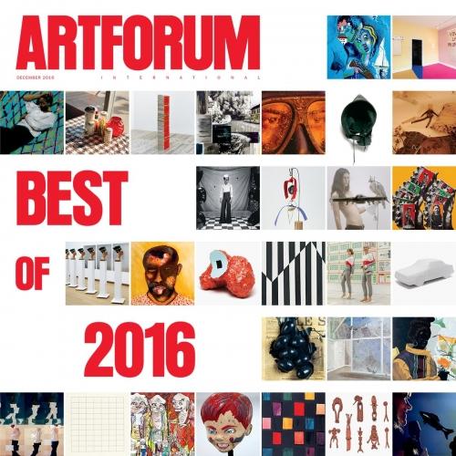 Louis Draper is featured in Artforum's Best of 2016 Issue