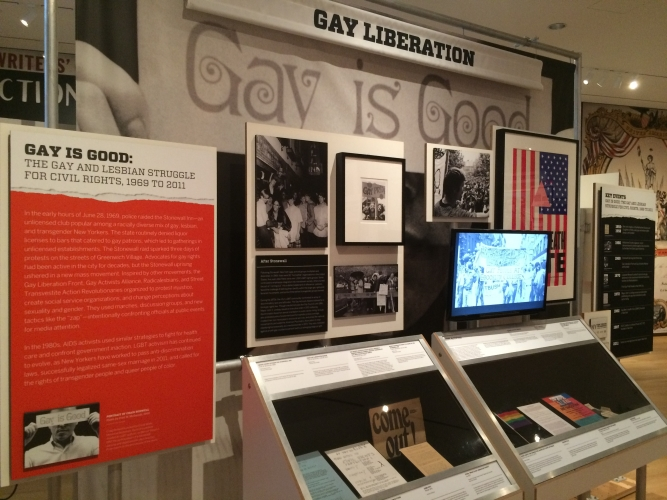 Exhibition: Fred W. McDarrah in Activist New York at the Museum of the City of New York, New York