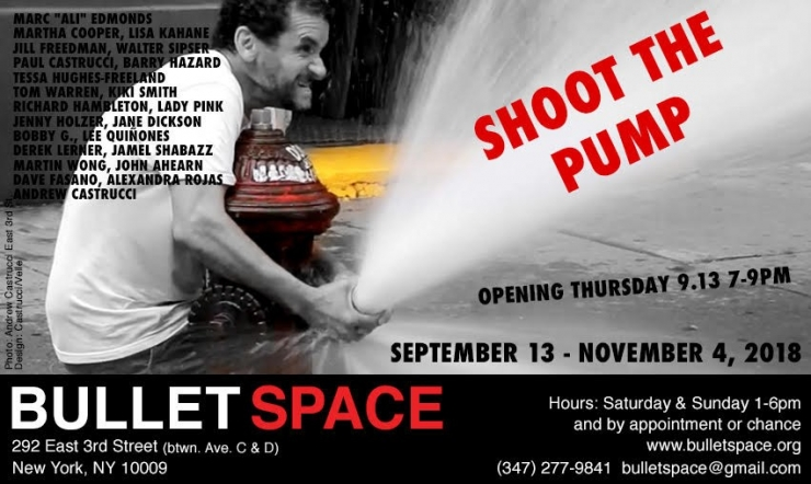 Exhibition: Shoot The Pump at Bullet Space