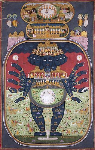 PICCHVAI DEPICTING KRISHNA VISHVARUPA – India