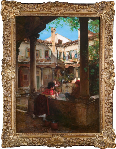 In the Courtyard
