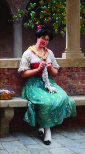 Alluring Seamstress