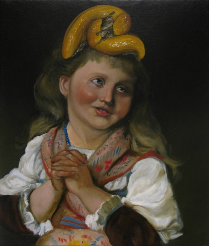 THE SINFUL CHILD, OIL ON CANVAS, 16 X 20 INCHES, 2008