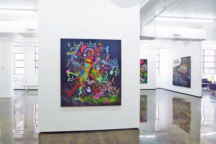 JOE BECKER | INSTALLATION VIEW | PATRICK MIKHAIL GALLERY MONTRÉAL | 2015