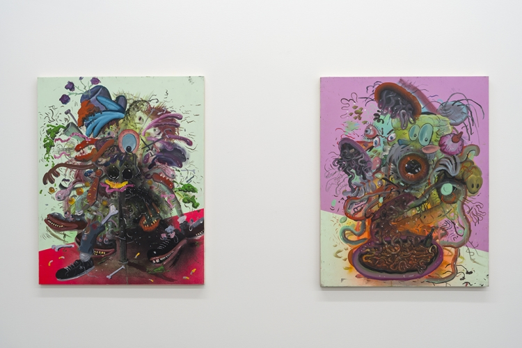 JOE BECKER | BLACK KNIGHTS OF COCKAIGNE | INSTALLATION VIEW | PATRICK MIKHAIL GALLERY | MONTRÉAL | 2016
