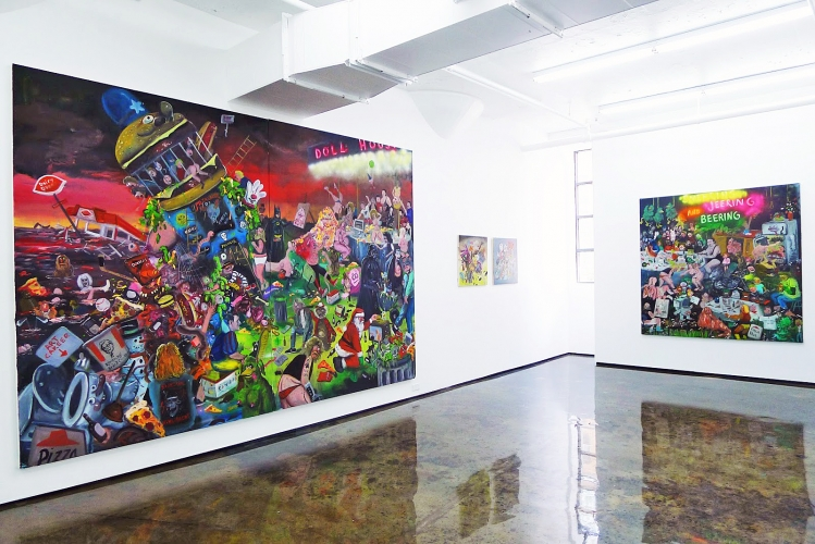 JOE BECKER | INSTALLATION VIEW | PATRICK MIKHAIL GALLERY MONTRÉAL | MAY 2015