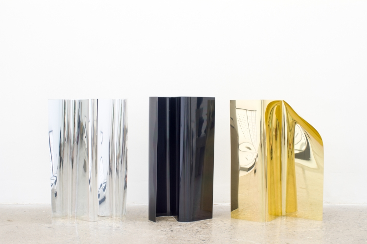 MICHAEL VICKERS | BODY PRESSURES | CHROMED ANODIZED ALUMINUM | VARIABLE DIMENSIONS | 2015