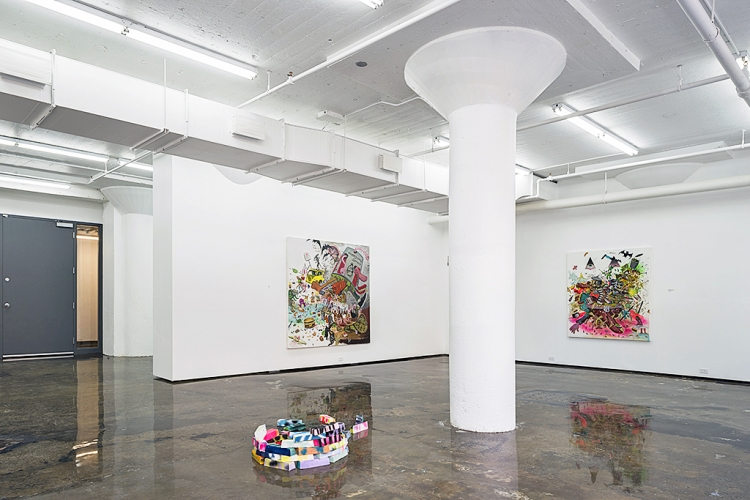 JOE BECKER | INSTALLATION VIEW | THE TRIUMPH OF THE THERAPEUTIC | PATRICK MIKHAIL GALLERY MONTRÉAL | 2015