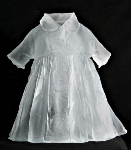 Karen LaMonte Childs dress with collar