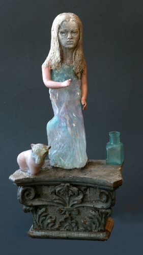 Christina Bothwell, Bo mixed media sculpture
