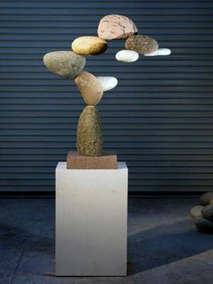 Woods Davy Cantamar stone sculpture
