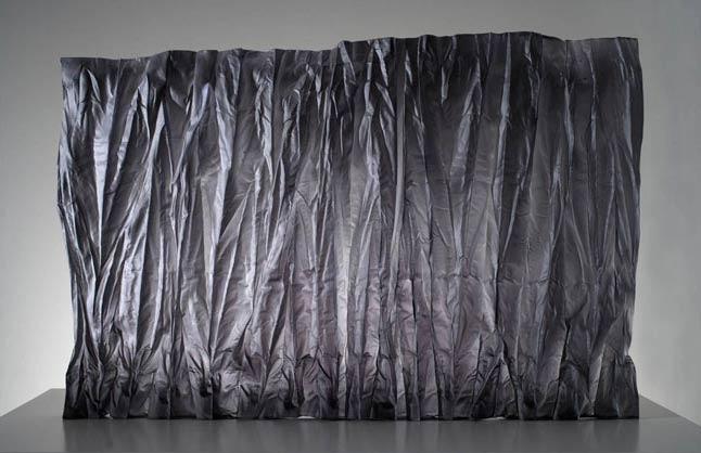 karen Lamonte glass curtain