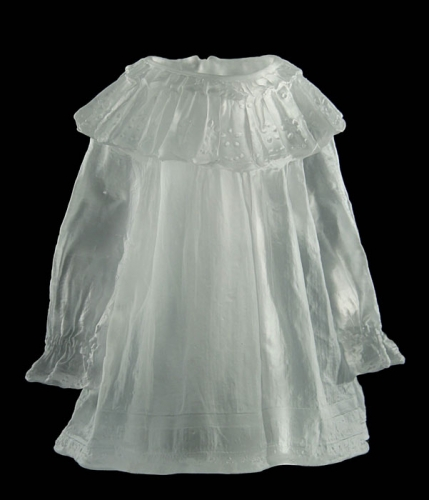 Karen LaMonte Childs dress with ruffled collar