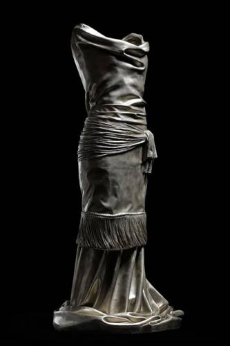 Karen LaMonte's Etude 5 in white bronze