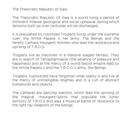 ELEKTRA KB THEOCRATIC REPUBLIC OF GAIA TRYFFELGRISEN GALLERY