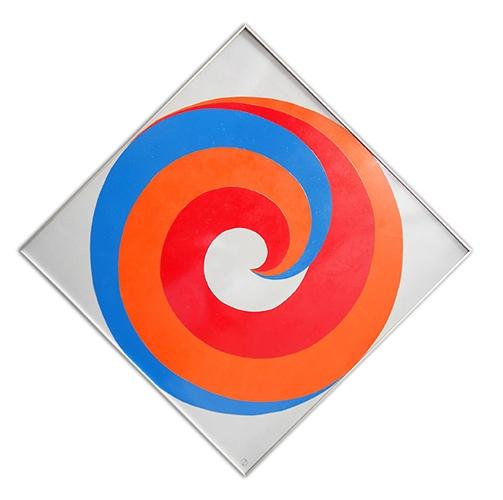 Geraldo de Barros Arranjo de Tres Formas Semelhantes Dentro de Um Circulo