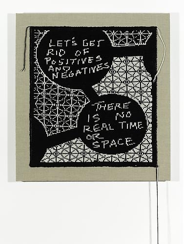 Lisa Anne Auerbach, Let's Get Rid of Positives and Negatives, 2014