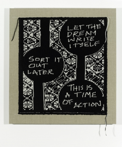 Lisa Anne Auerbach, Time of Action, 2014